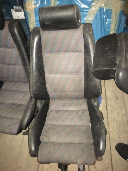 2x Cecotto Sitze vorne M3 E30