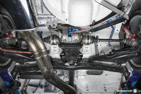 M3 E30 Differential-Ölkühlung