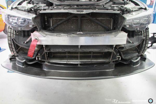 BMW M4 GT4 Luftführung