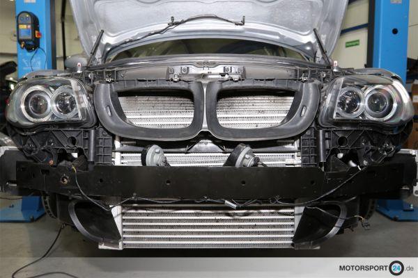 BMW 1M / 135i N54 Ladeluftkühler Race Step 2