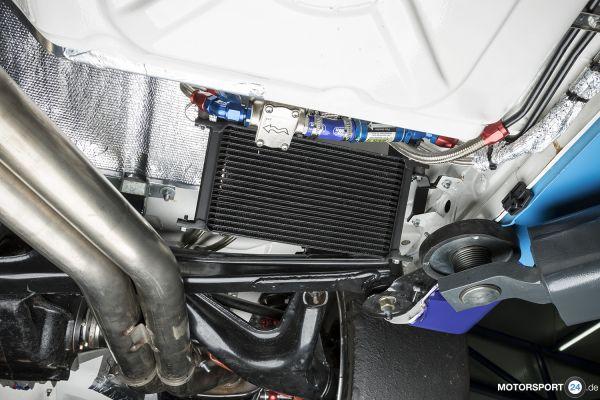 M3 E30 Getriebeölkühlung