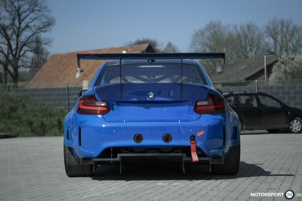 BMW M2 GTR Heckdiffuser