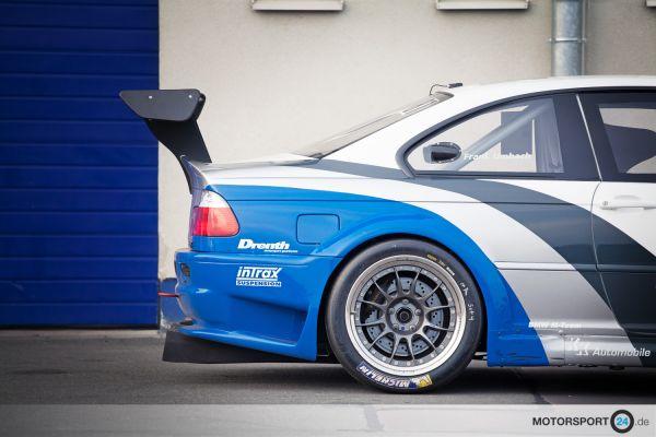 BMW M3 E46 Heckflügel Race