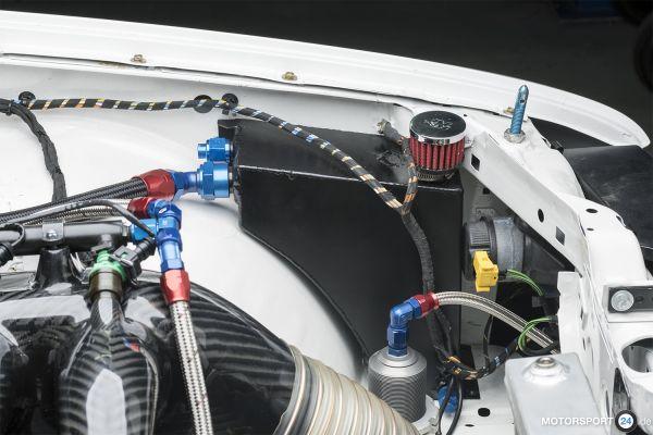 M3 E30 Ölsammler mit Luftfilter
