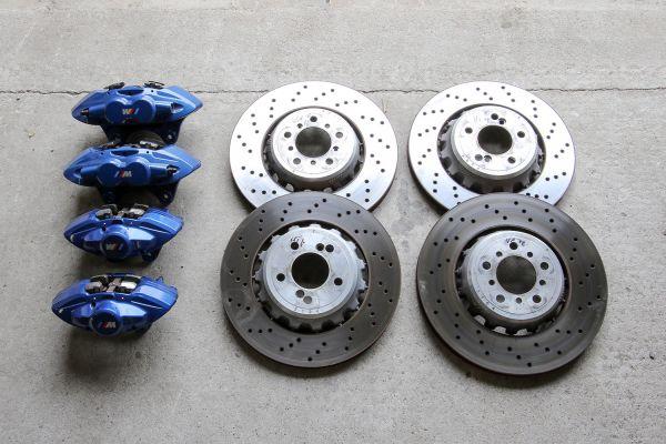 BMW M4 F82 / M3 F80 Bremse blau