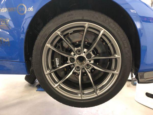 """BMW M4/M2 18"""" Trackday Radsatz"""
