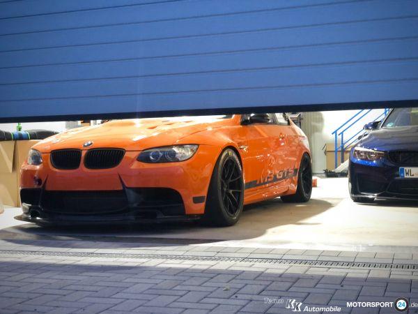 "BMW M3 E92 Kotflügel für 11"" Felgen"