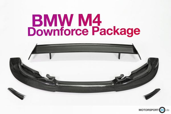 BMW M4 F82 Downforce Package Trackday
