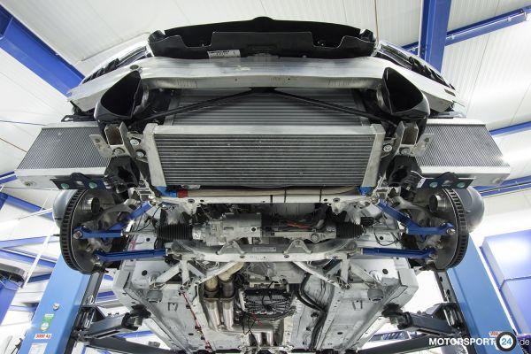 BMW M2 F87 (S55) Ölkühler Motor Race